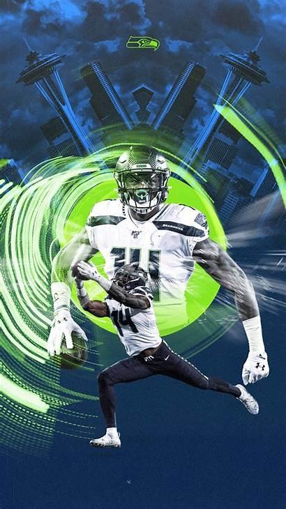 Metcalf Dk Seahawks Seattle Football Wallpapers Nfl