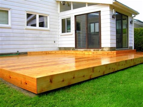 Backyard Platform Deck