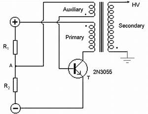 Circuit Diagram Of Flyback Converter Of High Frequency Ac Source