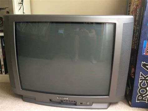 samsung tv test samsung 27 quot 27 inch screen crt tv great for retro