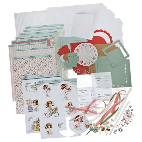 The Hobby House Wee Cardmaking Kit Featuring Spring