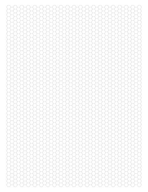 graph paper hexagonal
