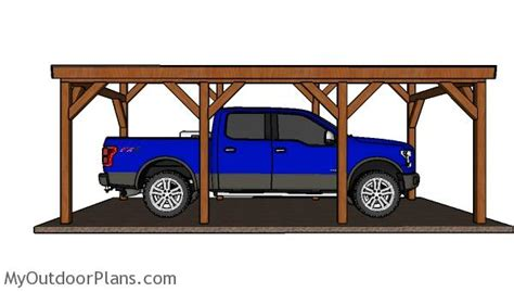 12x24 Carport by 12x24 Do It Yourself Lean To Carport Plans