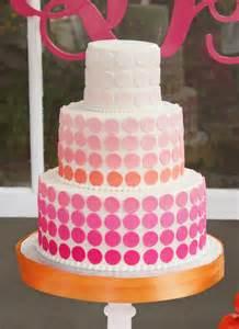 40th Pink Birthday Cake