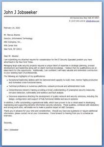 sle cover letter it professional creative resume