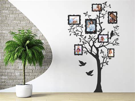 Wandtattoo Foto Baum Mit Fotorahmen Wandtattoo Foto Baum