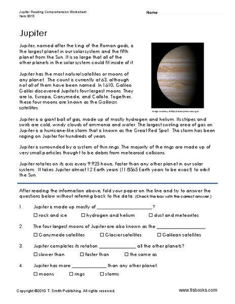 jupiter planet worksheet jupiter worksheet for 3rd 5th grade lesson planet