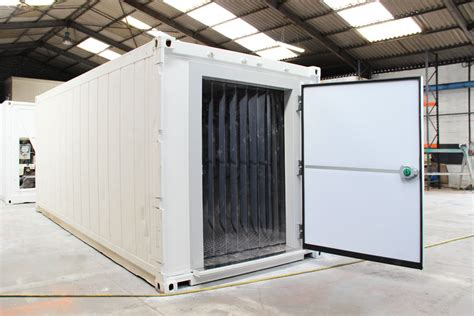 container chambre froide rideau lamelles chambre froide containers reefers