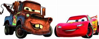 Mcqueen Lightning Disney Cars Clipart Mater Transparent