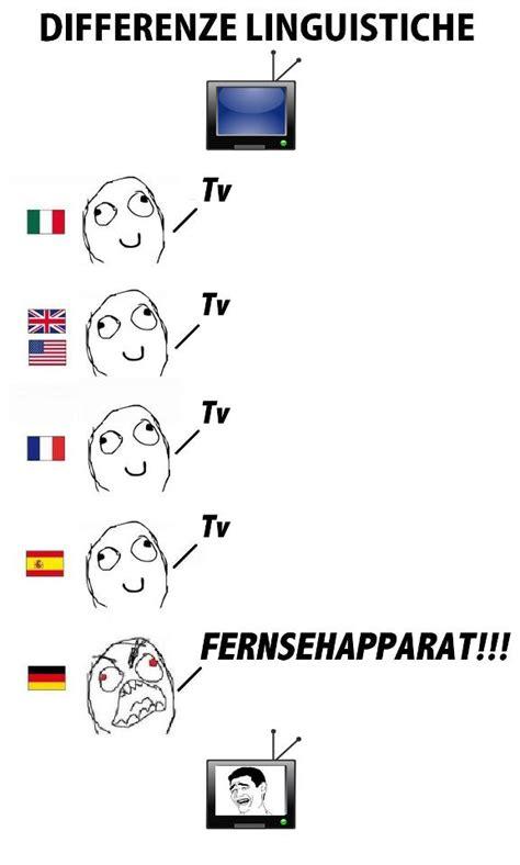 German Words Meme - image 271659 differenze linguistiche know your meme