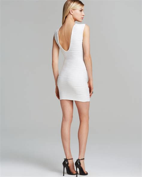 lyst bec bridge dress snake charmer reversible  white
