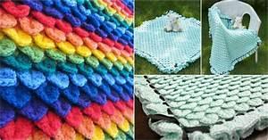 Crocodile Crochet Baby Blanket [Free Pattern] - STYLESIDEA