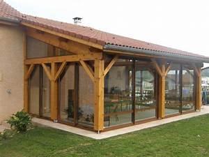 Veranda En Bois A Faire Soi Meme : modele de veranda en bois ~ Premium-room.com Idées de Décoration