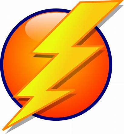 Lightning Vector Clip Icon Svg Right