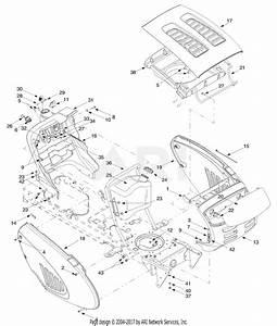 Troy Bilt 13cx609g063 18hp Lawn Tractor  2002   Lt