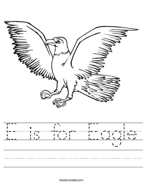 e is for eagle worksheet twisty noodle 216   e is for eagle worksheet png 468x609 q85