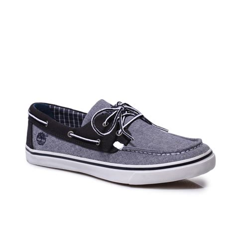 Timberland Boat Shoes Size by Timberland Blue Grey Earthkeepers New Market Canvas Boat