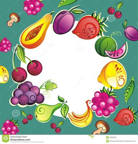 fresh fruit  vegetable background royalty  stock