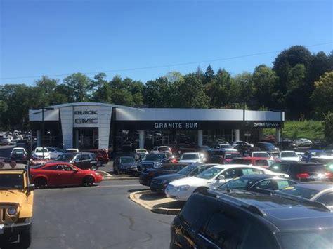 granite run buick gmc inc car dealership in media pa