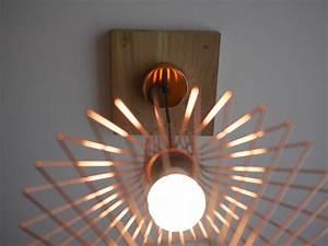 Plafonnier En Bois : trou trop large au plafond fabriquer un cache fil en bois ~ Teatrodelosmanantiales.com Idées de Décoration