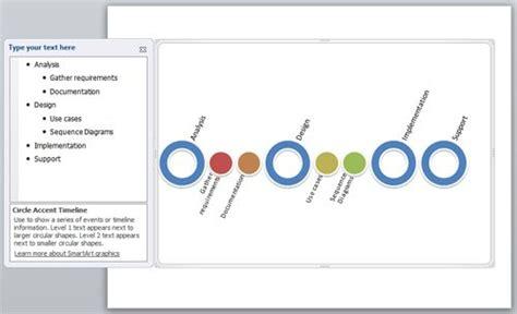 creating  timeline  powerpoint  smartart