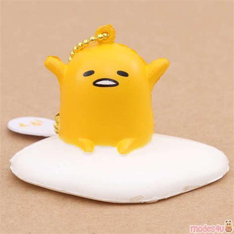 cute gudetama egg yolk stretching squishy charm kawaii