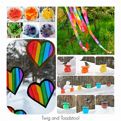 36 rainbow activities for babies toddlers preschoolers 702 | PicMonkey Collage (96)