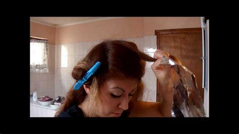 la maison des coiffeurs tuto coiffure comment faire des m 232 ches soi m 234 me 224 la maison et en plus une teinture