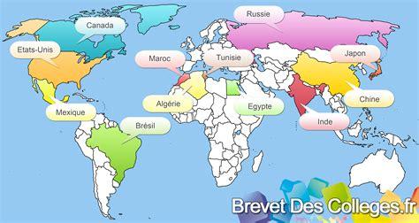 les cuisines du monde les carte du monde