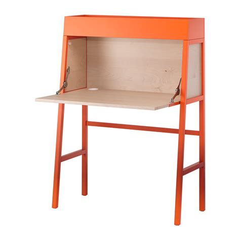 bureau pc ikea ikea ps 2014 bureau orange birch veneer ikea