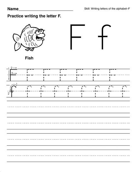 letter f worksheets for preschoolers free printable letter f worksheets for kindergarten 763