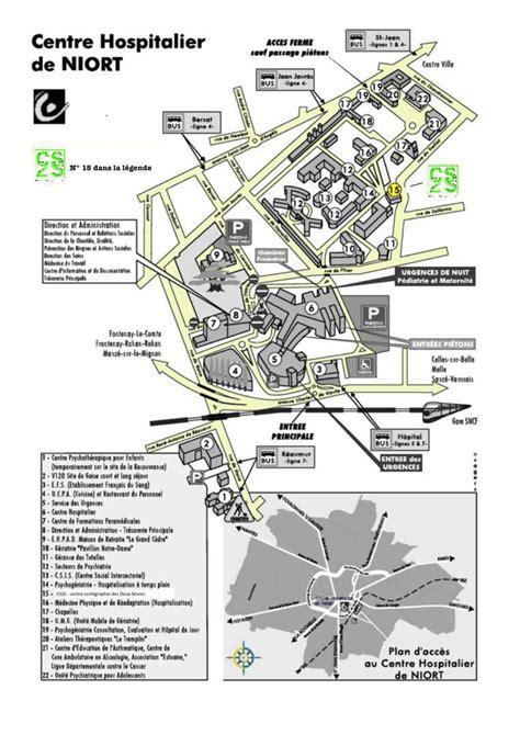 plan d 39 acces cs2s scintigraphie niort cs2s fr plan de l 39 hopital