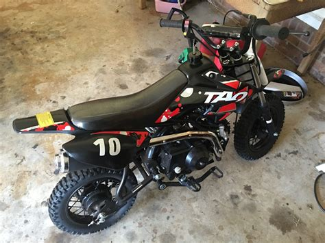 Black And Red Dirt Bike In Turnersburg, Nc