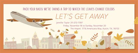trips  getaways  invitations evitecom