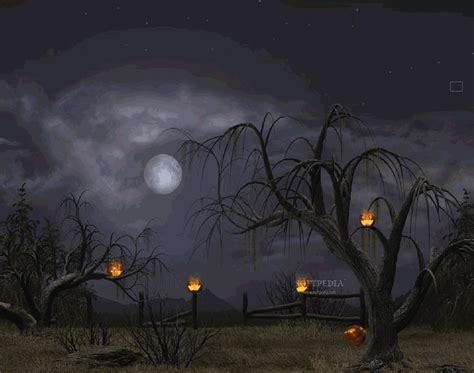 Halloween Animated Wallpaper