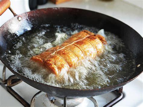 deep cooking turkey porchetta recipe fats fried food sous vide thanksgiving recipes fry oils chowder wok frying fryer oil dishmaps