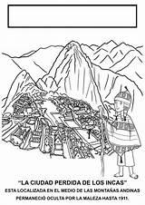 Machu перу Pichu sketch template