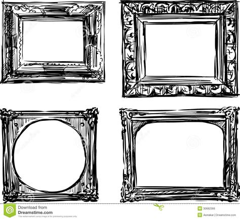 Decorative Molding by Vintage Frames Stock Vector Image Of Design Graphic