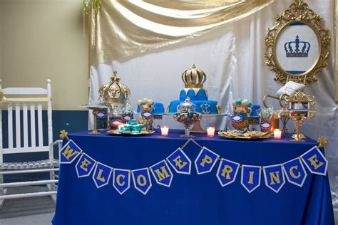 A New Prince Baby Shower Theme welcome royal prince baby shower favors more llc