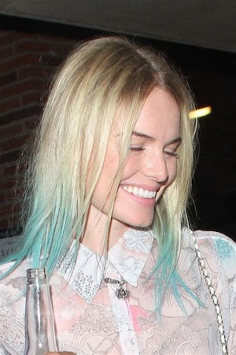 celebrities  dip dyed hair color women hairstyles