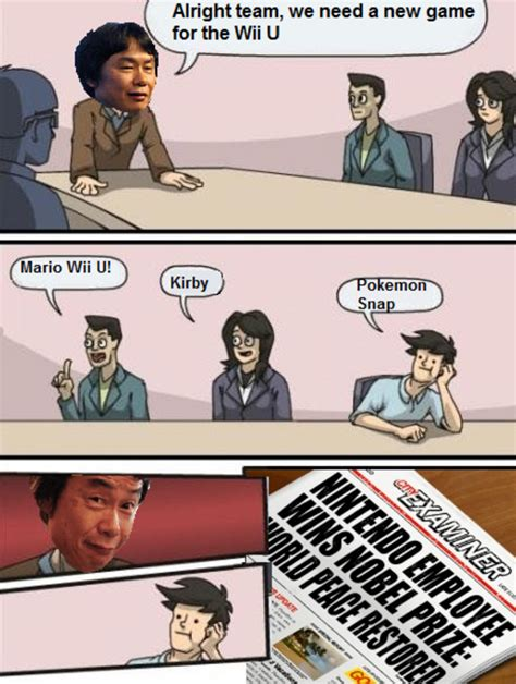 Wii U Meme - image 482107 boardroom suggestion know your meme