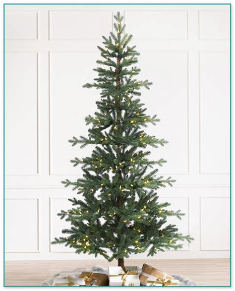 nordmann fir christmas tree home depot real looking trees artificial