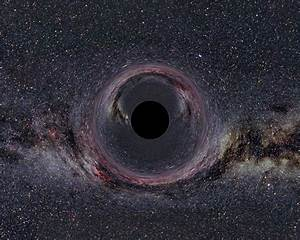 Scientists Detect Magnetic Fields Outside a Black Hole's ...