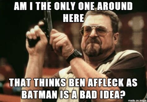 Max Alone Rockin In The Free World Bat Affleck Ben Afflek Sar Batman Son Problemi