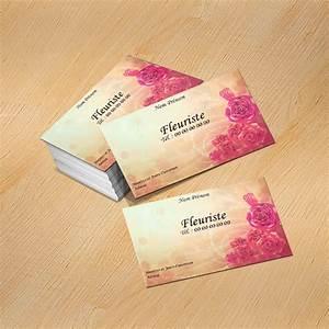 Carte De Visite Original : mod le carte de visite fleuriste original ~ Melissatoandfro.com Idées de Décoration