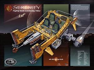 Firefly Serenity Cutaway Poster Set