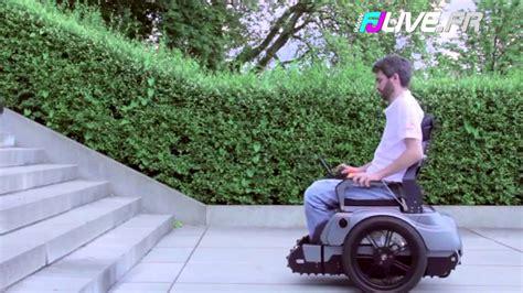 chaise monte escalier ils inventent un fauteuil roulant capable de monter un