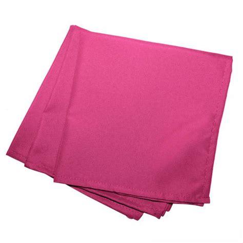 lot de 3 serviettes gamme essentiel fuchsia serviette de table eminza