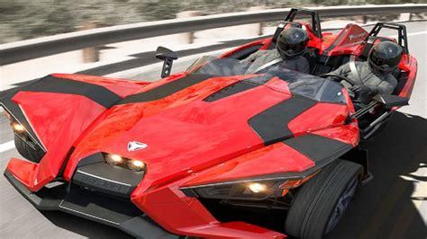 Polaris Three Wheel Car, Amazing Cars In Dubai, Sports