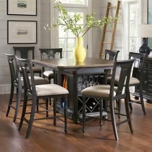 kitchen island table sets avalon furniture rivington traditional 7 kitchen island counter table set pilgrim